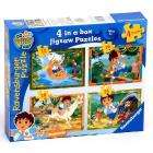 Go Diego Go - 4 in a Box Jigsaw Puzzles  £2.98 Delivered @Amazon