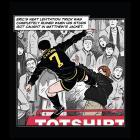 Cantona drop kick T-shirt £3.80 @ iffyton