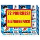 Felix Fish Selection 72 Pack - £10.00 at Tesco On-line