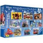 Disney Pixar: 10 In 1 Jigsaw Puzzle Box (Toy Story, Cars, Up And More) £7.49 delivered @ Play