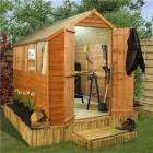 BillyOh Classic Economy Apex garden shed from £169.95 8x6. £224.95 10x6 Free Delivery uk @  Garden Buildings Direct