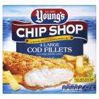 Youngs, 4x COD / HADDOCK fillets £2 @ Sainsburys instore