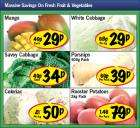 Mango 29p, White Cabbage 29p, Savoy Cabbage 34p, 36 Weetabix £2 - More in Post - Offers @ Lidl