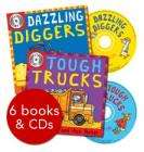 Amazing Machines - 6 Books & CDs Shrinkwrapped £7.19 @ The Book People