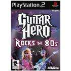Guitar Hero Rock The 80s for PS2 With SG style guitar and T-Shirt £6 @ Tesco instore only