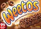 Weetos bars x 5 £1 @ Poundland (99 calories)