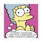 The Simpsons, Marge Pop (40x40cm) Art Print was £7.99 - now £1.28 at Amazon