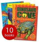 Dinosaur Cove Collection - 10 books RRP £49.99 only £8.99 delivered with voucher codes @ The Book People