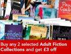 Buy any 2 selected Adult Fiction Collections (ie 20 books) for just £15.28 at The Book People (save up to £146.68)