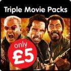 Selection of Triple Pack DVD's £5.00 delivered at Play plus quidco!