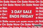 3 day SALE at M&Mdirect (until Friday) !!!
