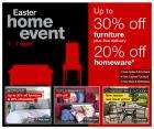 Marks & Spencer Easter Home Event Sale 1 April - 7 April - up to 30% off furniture + free delivery and 20% off homeware