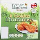 Half Price - Bernard Matthews Golden Turkey Drummers (340g) 89p at Sainsburys or 4 for £3 at Asda