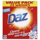 Daz washing powder 2 for £6, 1.7 kg boxes ( 25 washes each ) @ Asda