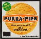 Pukka Pies for a pound at Tesco