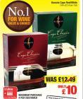 Kumala Cape Red/White Wine 3ltr Box only £10 @ Netto