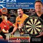 Official Competition Bristle Dartboard £9.93 delivered @ The Hut