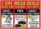 7 Day Mega Deals at Argos (ends 10 Oct) + offers !!