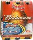 Budweiser 6 x 300ml bottles £3.32 at Sainsburys - 55p a bottle