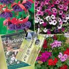 Down to £4.99, Chelsea Flower Show Collection, DVD, vouchers & 15 plants inc 5 Fuchsias @ T & M
