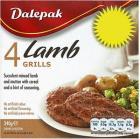 Dalepak Lamb Grills (4 per pack - 340g) £1.67 or 4 for £3 @ Asda