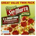 San Marco Pizza twin pack 97P @ Asda