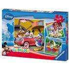 Ravensburger Mickey Mouse Clubhouse: 3 In A Box Jigsaw Puzzles £2.99 delivered @ Play