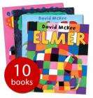 Elmer Books - set of 10 - only £9.99 delivered at The Book People