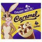 Cadbury Dairy Milk Caramel Cones 4 X 130ml Save 99p Now just £1 @ Tesco