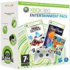 Xbox 360 white Controller + 3 games - Trivial Pursuit, Burnout Paradise (Ultimate Box) and Connect 4 - £21 @ ASDA