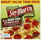 Twin pack San Marco Pepperoni Pizza at Asda for only £1