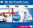 Free Customised World Cup T-Shirt & Cap £4 Delivered plus £2.50 quidco @ Vistaprint