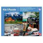 Tesco 4 In 1 Puzzle, £2.97 Pick Up Instore @ Tesco Direct