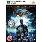 Batman Arkham Asylum Game of The Year Edition (PC) [New] £9.85 Delivered @ ShopTo.net