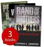 Stephen Ambrose Collection incl. Band of Brothers £4.99 Delivered @ TheBookPeople (+6% Quidco)