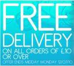 Free Delivery on Orders over £10 (save £3.95 or £19.95 on heavy item orders) @ Bargain Crazy