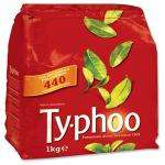 440 Typhoo Tea bags only £4 from Monday 12 July @ Netto