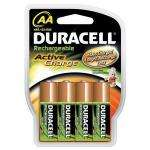 Duracell Active Charge Rechargeable AA Batteries 2000mAh Pack of 4 HR06-A, 5.09 Delivered @ Amazon