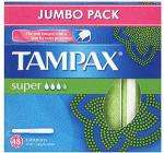 Tampax Applicator Tampons Super or Regular (48) Half Price - £2 at Asda