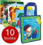 Harry and his Bucketful of Dinosaurs Collection - 10 Books in presenation/gift bag only £9.99 delivered @ The Book People
