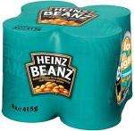 Heinz Baked Beanz in Tomato Sauce (4x415g) £2 or 2 Packs for £3 (8 tins of beans) @ Sainsburys Or 2 Packs of 6 (12 Tins) for £4 at Asda