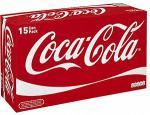 Coca Cola, Diet Coke or Coke Zero 15 x 330ml cans £4 at Asda