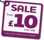 Ryanair £10 Flights September to October