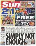FREE Transformers RPM mini vehicle worth £3.99 in Saturdays Sun(60p)