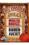 Baz Luhrmann's Epic Romances DVD Box Set (Australia, Moulin Rouge, Romeo and Juliet) plus bonus CD £4.99 at Play.com