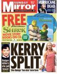 FREE Shrek story movie books on CD in Sunday Mirror(£1)