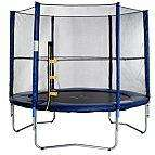 8ft Round Trampoline with Enclosure - now just  £74.84 at B&Q