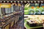 £7.50 instead of £18.70 for any four plates of Sushi, miso soup + soft drink or rice tea at Sakura in Belfast  - Groupon