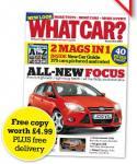 Free copy of What car magazine worth £4.99 @ Haymarket Media