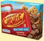 Harvest Chewee Bars White + Milk chocoloate 75p a Box (x9) @ Tesco